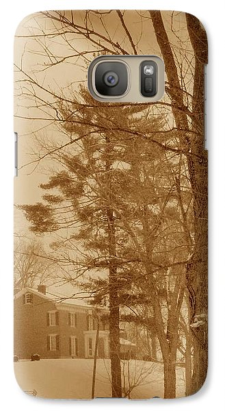 Galaxy Case featuring the photograph A Winter Scene by Skyler Tipton