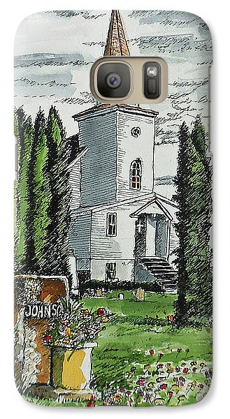 Galaxy Case featuring the painting A Wisconsin Beauty by Terry Banderas
