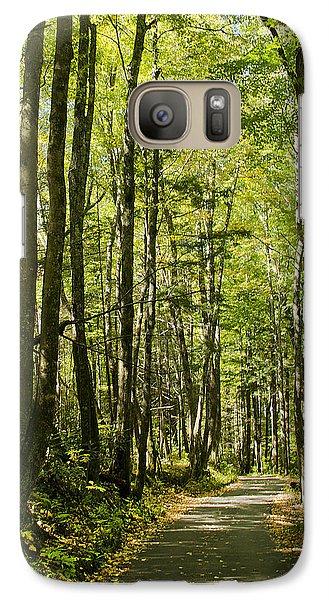 A Woodsy Trail Galaxy S7 Case
