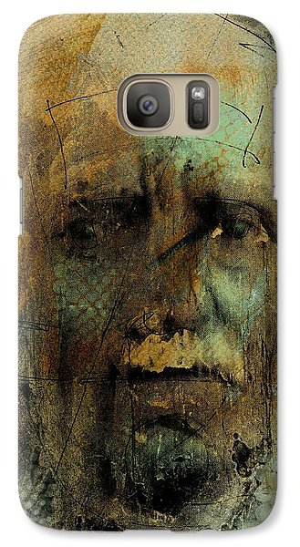 Galaxy Case featuring the digital art A Worried Mind by Jim Vance