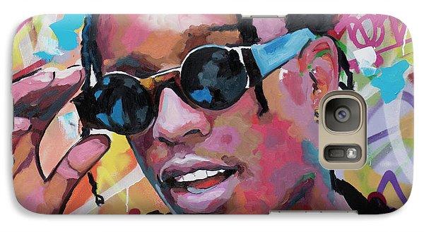 Harlem Galaxy S7 Case - A$ap Rocky by Richard Day