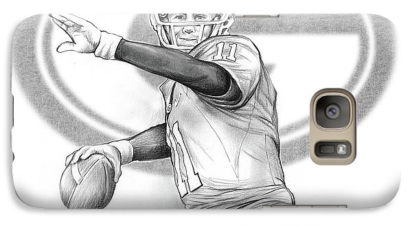 Aaron Murray Galaxy Case by Greg Joens