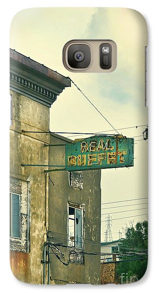 Galaxy Case featuring the photograph Abandoned Building by Jill Battaglia
