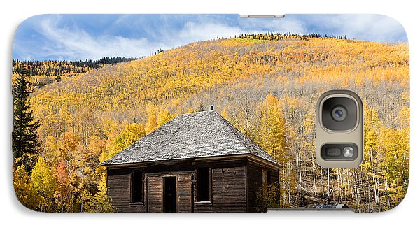Galaxy Case featuring the photograph Abandoned Cabin Near The Old Mining Town Of Ironton by Carol M Highsmith