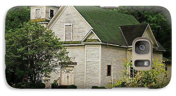 Galaxy S7 Case - Abandoned Church - Louisiana by M Thomas Jackson