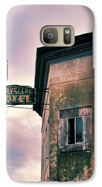 Galaxy Case featuring the photograph Abandoned Hotel by Jill Battaglia