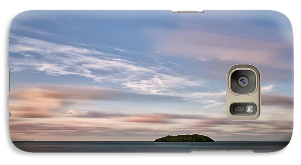 Galaxy Case featuring the photograph Abandoned Key by Jon Glaser