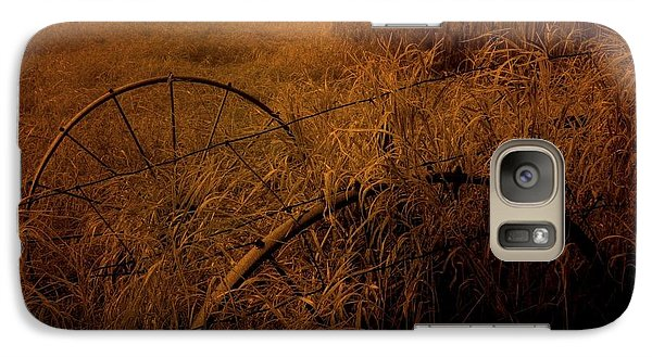 Galaxy Case featuring the photograph Abandoned Near Joyceville Road by Jim Vance