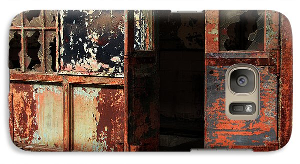 Galaxy Case featuring the photograph Abandoned Post Office by Joanne Coyle