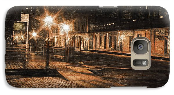Galaxy Case featuring the photograph Abandoned Street by Michael Cleere