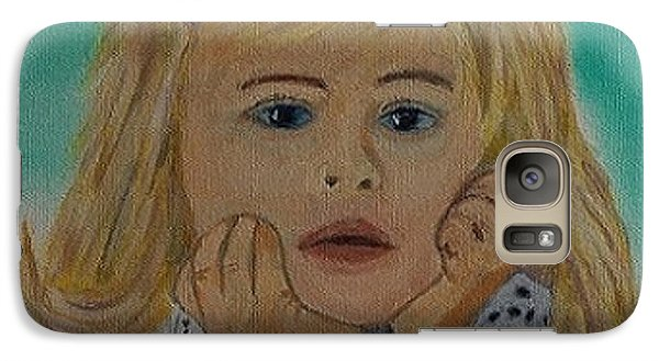 Galaxy Case featuring the painting Abbey by Rod Jellison
