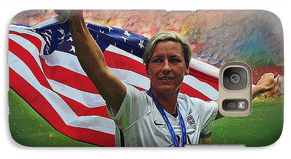 Abby Wambach Us Soccer Galaxy S7 Case