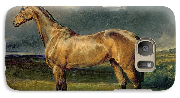 Horse Galaxy S7 Case - Abdul Medschid The Chestnut Arab Horse by Carl Constantin Steffeck