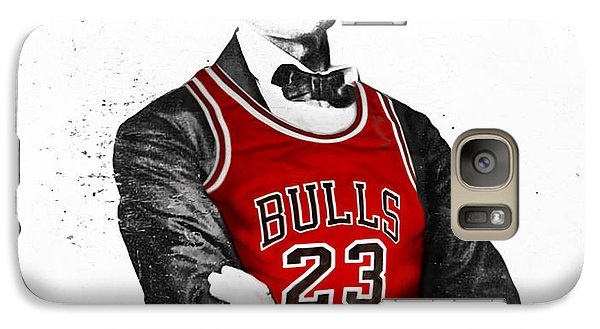 Abe Lincoln In A Bulls Jersey Galaxy S7 Case