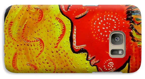 Galaxy Case featuring the painting Abellona by Shelley Bain