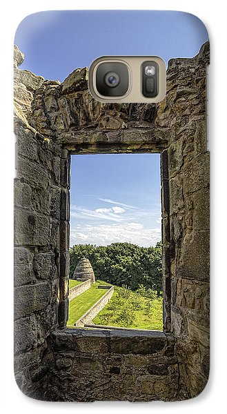Galaxy Case featuring the photograph Aberdour Castle by Jeremy Lavender Photography