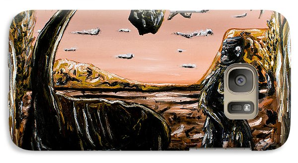 Galaxy Case featuring the painting Abiogenesis  by Ryan Demaree