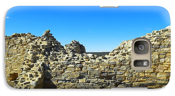 Galaxy Case featuring the photograph Abo Mission Ruins New Mexico by Jeff Swan