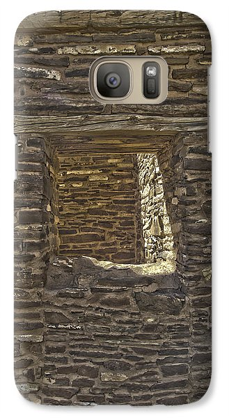 Galaxy Case featuring the photograph Abo Window by R Thomas Berner