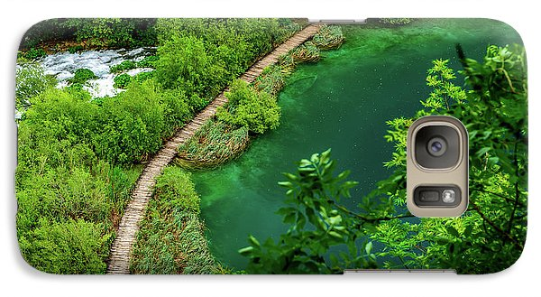 Above The Paths At Plitvice Lakes National Park, Croatia Galaxy S7 Case