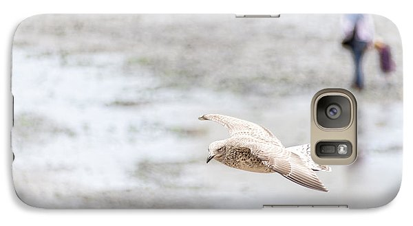 Galaxy Case featuring the photograph Above The Watten Sea 2 by Hannes Cmarits