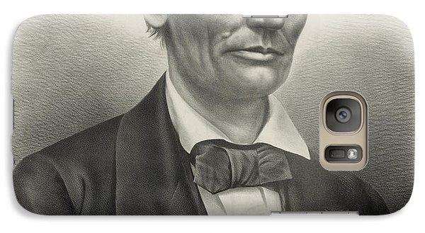 Galaxy Case featuring the photograph Abraham Lincoln - As A Presidential Candidate by International  Images