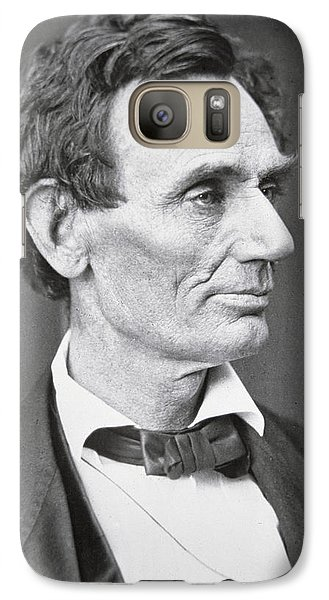 Abraham Lincoln Galaxy Case by Alexander Hesler