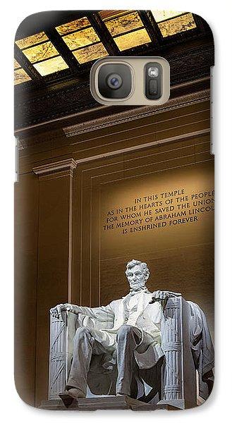 Abraham Lincoln Galaxy S7 Case