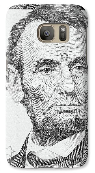Galaxy Case featuring the photograph Abraham Lincoln by Les Cunliffe