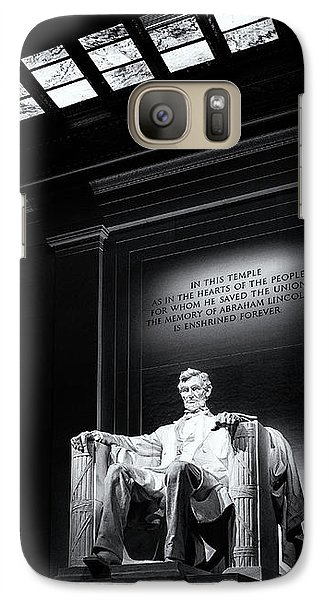 Abraham Lincoln Seated Galaxy S7 Case