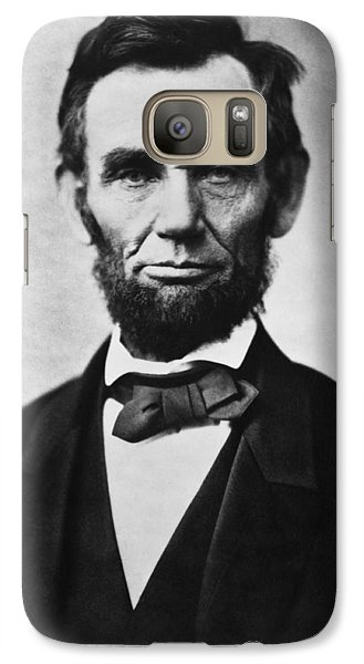 Abraham Lincoln Galaxy S7 Case by War Is Hell Store