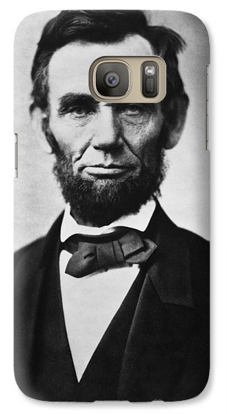 Politicians Galaxy S7 Case - Abraham Lincoln by War Is Hell Store