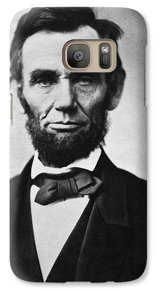 Abraham Lincoln Galaxy Case by War Is Hell Store