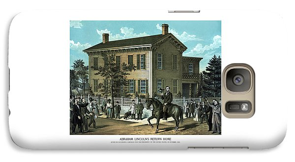 Abraham Lincoln Galaxy S7 Case - Abraham Lincoln's Return Home by War Is Hell Store