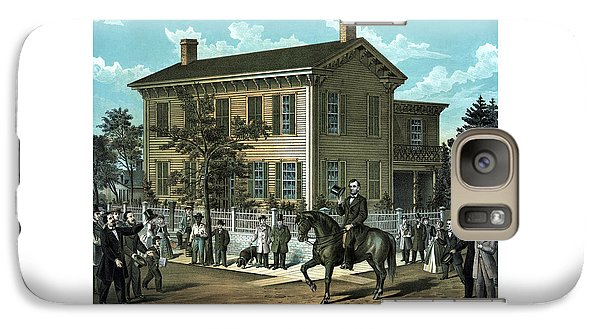 Abraham Lincoln's Return Home Galaxy Case by War Is Hell Store