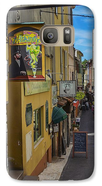 Galaxy Case featuring the photograph Absinthe In Antibes by Allen Sheffield