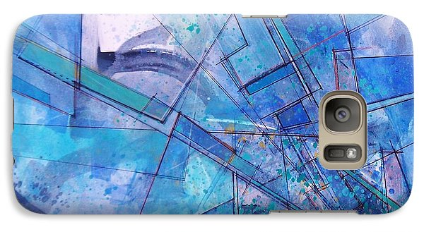 Galaxy Case featuring the painting Abstract # 246 by Robert Anderson