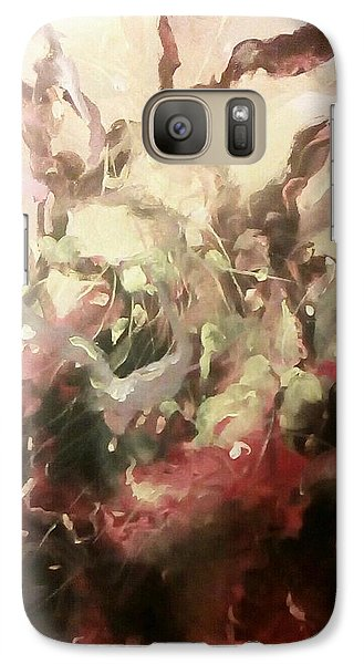 Galaxy Case featuring the painting Abstract #01 by Raymond Doward