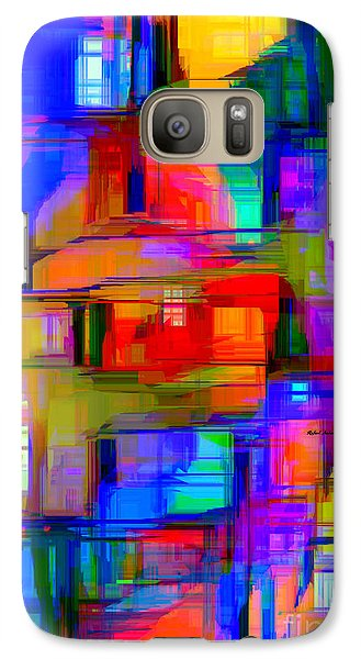 Abstract 1293 Galaxy S7 Case