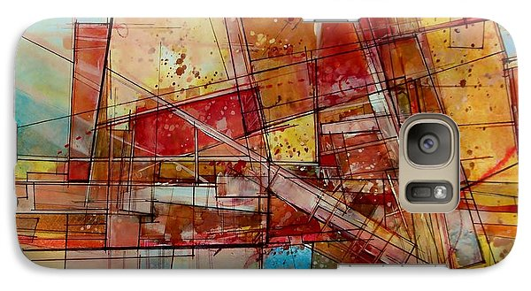 Abstract #240 Galaxy S7 Case