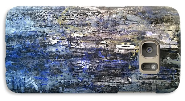 Galaxy Case featuring the pastel Abstract #334 by Robert Anderson