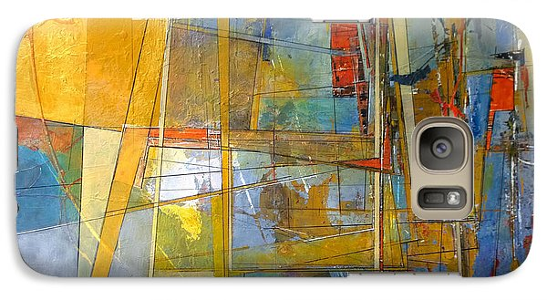 Galaxy Case featuring the painting Abstract #38 by Robert Anderson