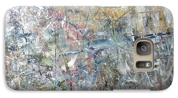 Galaxy Case featuring the painting Abstract #415 by Robert Anderson