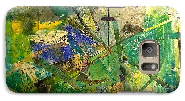 Galaxy Case featuring the painting Abstract #41715 by Robert Anderson