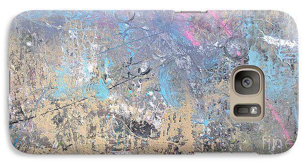 Galaxy Case featuring the painting Abstract #42115a by Robert Anderson
