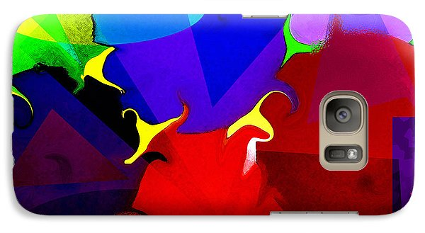 Galaxy Case featuring the digital art Abstract 6 by Timothy Bulone