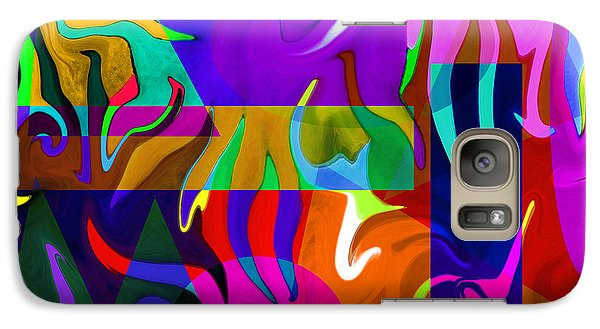 Galaxy Case featuring the digital art Abstract 7d by Timothy Bulone