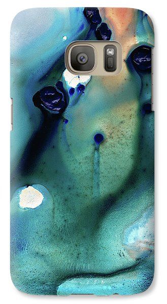 Galaxy Case featuring the painting Abstract Art - Hands To Heaven - Sharon Cummings by Sharon Cummings
