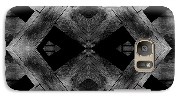 Galaxy Case featuring the photograph Abstract Barn Wood by Chris Berry