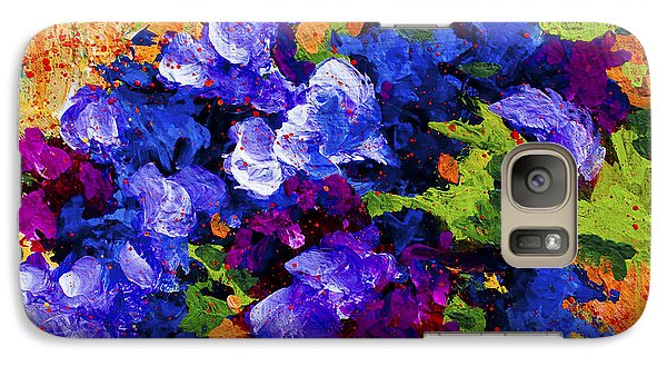 Daisy Galaxy S7 Case - Abstract Boquet 3 by Marion Rose